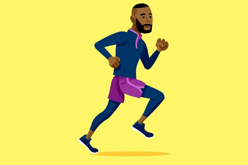 Xử lý xóc hông khi chạy bộ: bước 4